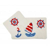 Комплект ковриков для ванной 2 предмета PRIMANOVA D-17961 Aqua