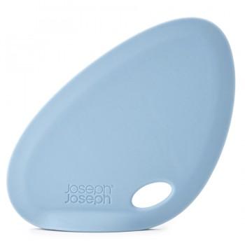 Скребок для миски Fin силиконовый голубой  Joseph Joseph 20076