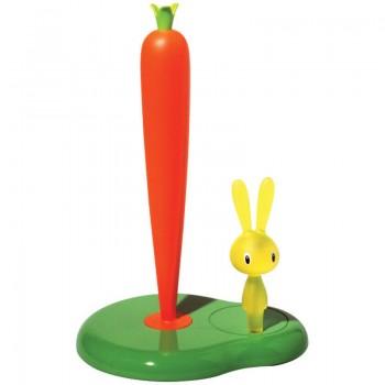 Держатель для бумажных полотенец Bunny&Carrot 20 см. Alessi ASG42 GR