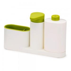 Органайзер для раковины с дозатором для мыла и бутылочкой SinkBase Plus Joseph Joseph 85082