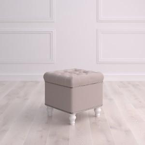 Пуф квадратный малый с ящиком Матера Studioakd puf kv MR1 Бежевый