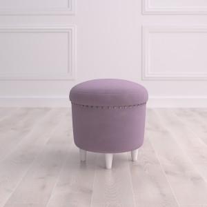 Пуф круглый малый с ящиком Терни Studioakd puf s HM26 Светло-фиолетовый