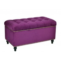 Сундук с ящиком Терамо Менса 32 темно-фиолетовый