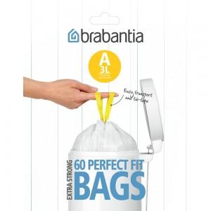 Пакет пластиковый 60 шт. Brabantia 348983