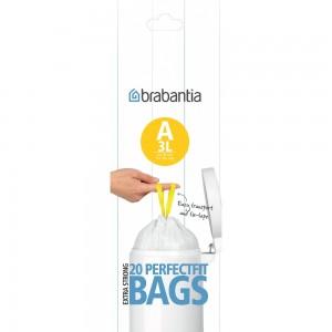 Пакет пластиковый 20 шт. Brabantia 311727