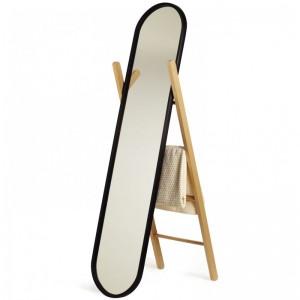 Зеркало напольное + вешалка Hub Umbra 358375-045