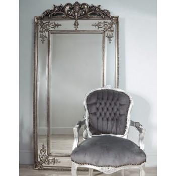 Зеркало в раме Пабло LouvreHome (Florentine silver)