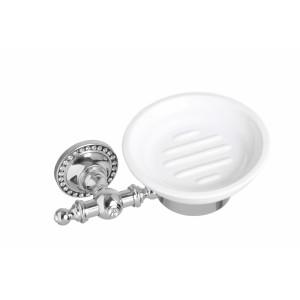 Мыльница настенная керамическая круглая Cameya H1403K