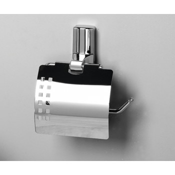 Держатель туалетной бумаги с крышкой WasserKRAFT К-5025