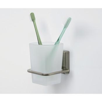 Стакан для зубных щеток стеклянный WasserKRAFT К-5228