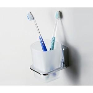 Стакан для зубных щеток стеклянный WasserKRAFT К-5028