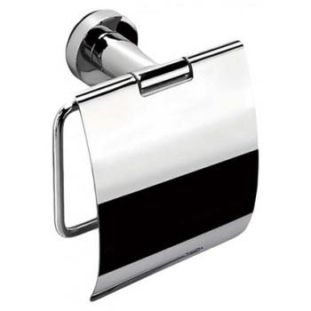 Держатель для туалетной бумаги с крышкой 14см. хром Colombo В2791