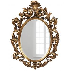 Зеркало в раме Овьедо LouvreHome (19С. Gold)