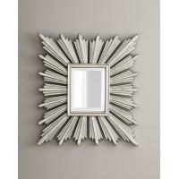 Зеркало в раме Милфорд LouvreHome (Soho silver)