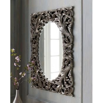 Зеркало в раме Массимо LouvreHome (Florentine silver)