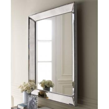 Зеркало в раме Франческо LouvreHome (Pale silver)