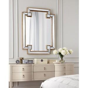 Зеркало в раме Честер (gold) LouvreHome