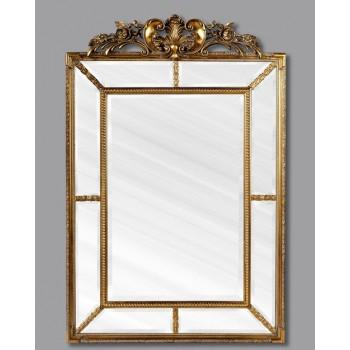Зеркало Ланкастер LouvreHome (Antique gold)