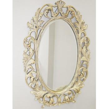 Зеркало в раме Гойя LouvreHome (Artisan ivory)