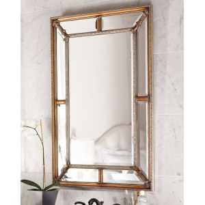Зеркало в раме Гарри LouvreHome (Antique gold)