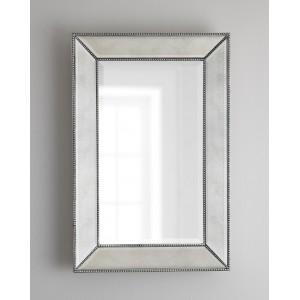 Зеркало в раме Мэдисон LouvreHome (Pale silver)
