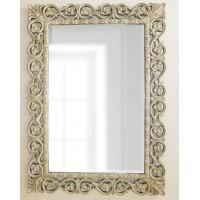 Зеркало в раме Бергамо LouvreHome (Artisan ivory)
