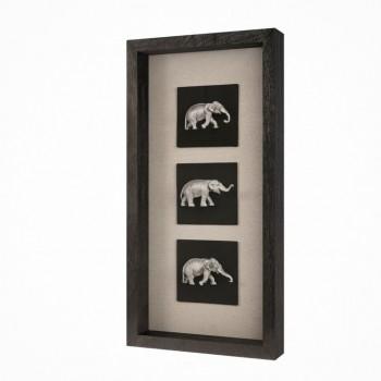 Панно Индийские слоны 1 MartGallery 20937A