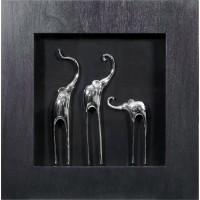 Три слона 2 (черная) MartGallery 15067D