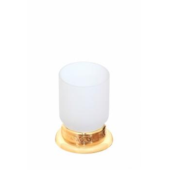 Стакан настольный стеклянный матовый Cameya G1614M