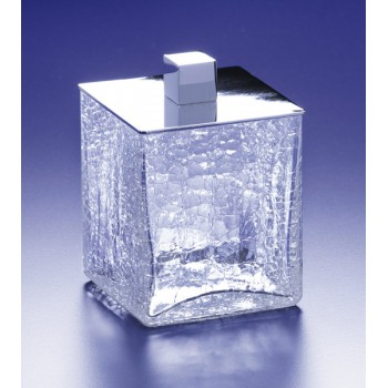 Баночка средняя BOX CRAQUELE WINDISCH 88128CR Chrome