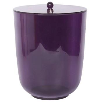 Урна с крышкой PRIMANOVA D-14724 Roma (фиолетовый)