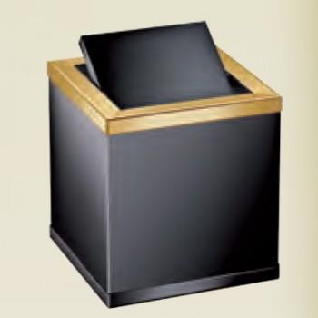 Корзина мини настольная для мусора Black WINDISCH 89702NO