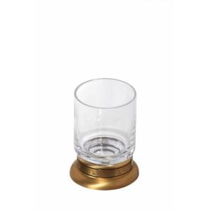 Стакан настольный стеклянный прозрачный Cameya A1614