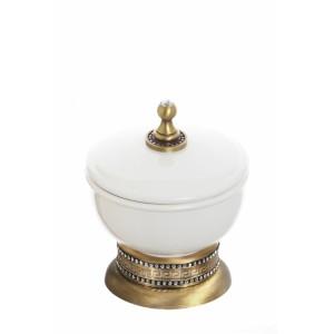 Баночка настольная с крышкой керамическая Cameya A1418K