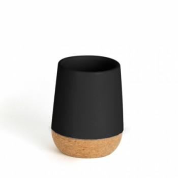 Стакан для ванной Kera чёрный Umbra 023860-040