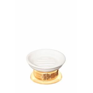 Мыльница настольная керамическая круглая Cameya G1613K