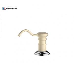 Дозатор для моющего средства OM-01-G латунь/золото 4995007