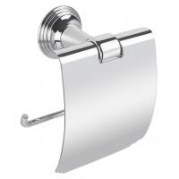 Держатель для туалетной бумаги с крышкой Colombo Hermitage В3391 хром