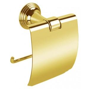 Держатель для туалетной бумаги с крышкой Colombo Hermitage В3391.HPS золото