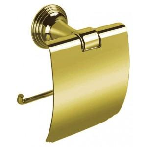 Держатель для туалетной бумаги с крышкой Colombo Hermitage В3391.OA бронза