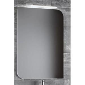 Зеркало со светильником в ванную комнату Smile Гранда 60 белый