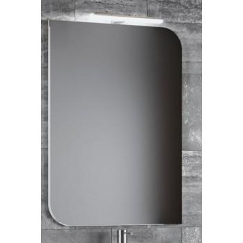 Зеркало со светильником в ванную комнату Smile Гранда 75 белый