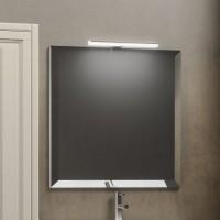 Зеркало со светильником Smile Касабланка 60 бежевое