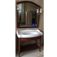 Мебель для ванной стиль ретро Smile Империал 100 светлый орех