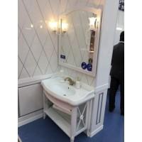 Мебель для ванной ретро Smile Империал 100 белая