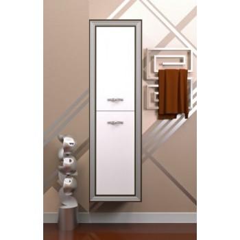 Шкаф для ванной Opadiris Пенал Карат Серебро