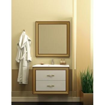 Мебель для ванной комнаты Opadiris Карат Золото 80