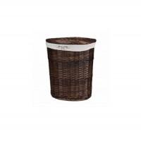 Корзина для белья из лозы коричневая № 3 C241B S/3 малая