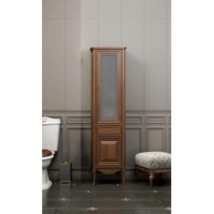 Шкаф для ванной напольный Opadiris Пенал Лоренцо светлый орех