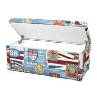 Банкетка с крышкой Сундук 95 Британия
